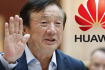 CEO of Huawei takes real iPhone 12