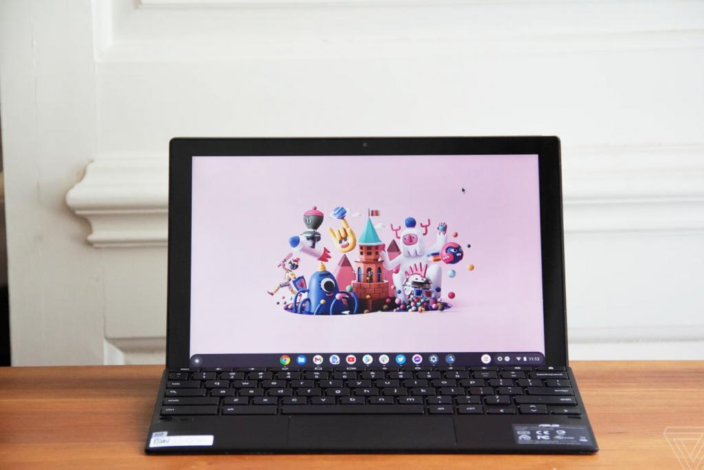 Asus Chromebook Detachable CM3 review Duet redux